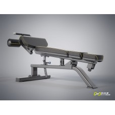 Скамья для пресса регулируемая DHZ E-1037В