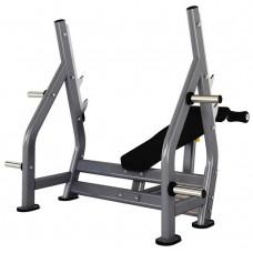 Скамья олимпийская с обратным наклоном Insight Fitness DR006
