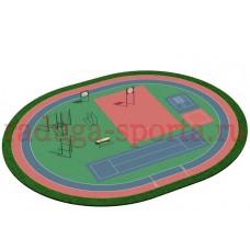 Уличная спортивная площадка ВФСК 1