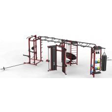 Многофункциональная рама (бокс, батут, растяжка, силовая станция) Insight Fitness DH013-A