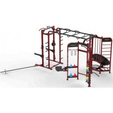 Многофункциональная рама (силовая станция, батут, растяжка) Insight Fitness DH013 С