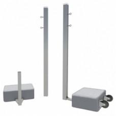 Бадминтонные стойки мобильные с противовесами SpW-AB-2