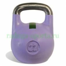 Гиря спортивная цветная 22 кг