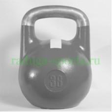 Гиря спортивная цветная 38 кг