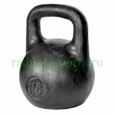Гиря тренировочная 18 кг
