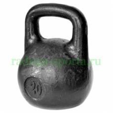 Гиря тренировочная 20 кг