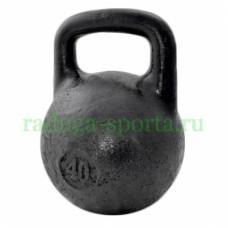 Гиря тренировочная 40 кг