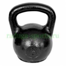Гиря тренировочная 6 кг