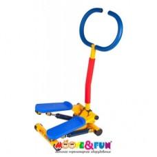Детский тренажер Степпер с ручкой Moove&Fun SH-10