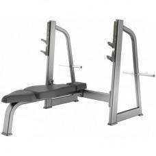 Скамья для жима лежа горизонтальная GROME fitness AXD5043A