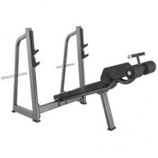 Скамья для жима лежа с отрицательным углом GROME fitness AXD5041A