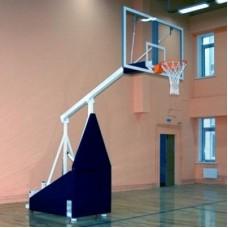 Стойка баскетбольная мобильная, вынос 1,65м
