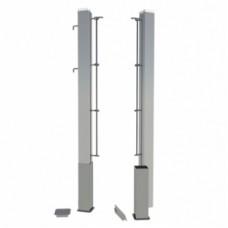 Теннисные стойки стационарные алюминиевые SpW-AТ-1