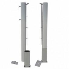 Теннисные стойки стационарные алюминиевые SpW-AТ-3