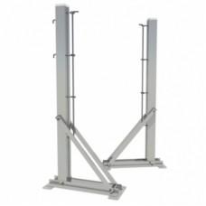 Теннисные стойки стационарные алюминиевые SpW-AТ-4