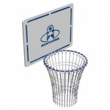 Щит баскетбольный с кольцом для ДСК