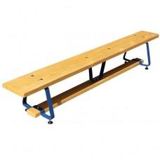 Гимнастическая скамейка 1,5 м на металлических ножках