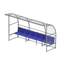 Скамейка для запасных игроков на 7 мест